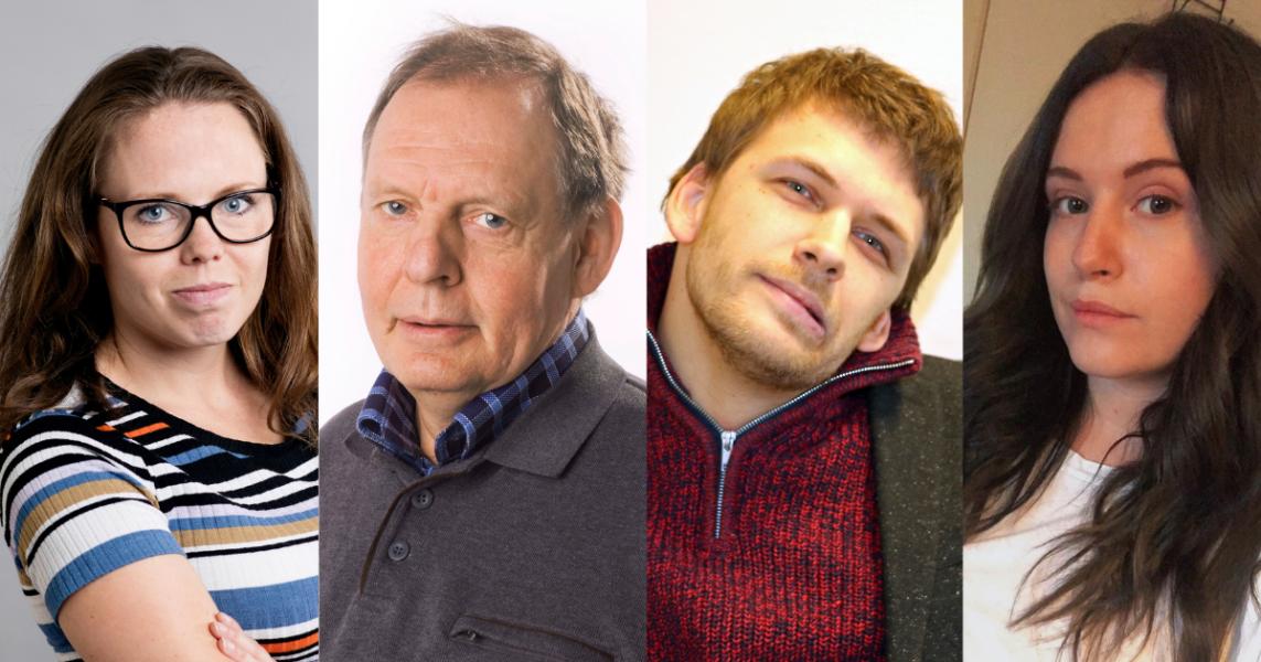 Alexandra Mattsson Åkerström,Jackie Nylander,Björn Häll Kellerman,Matilda Vigedal.