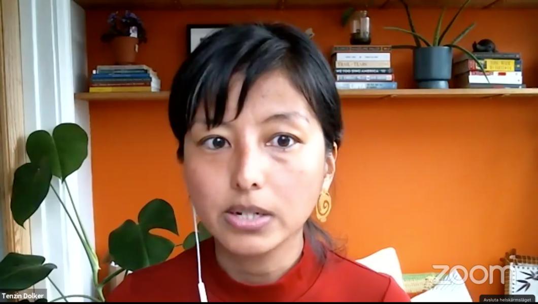 Tenzin Dolker på AWID har undersökt finaniseringen av feministisk organisering på global nivå.