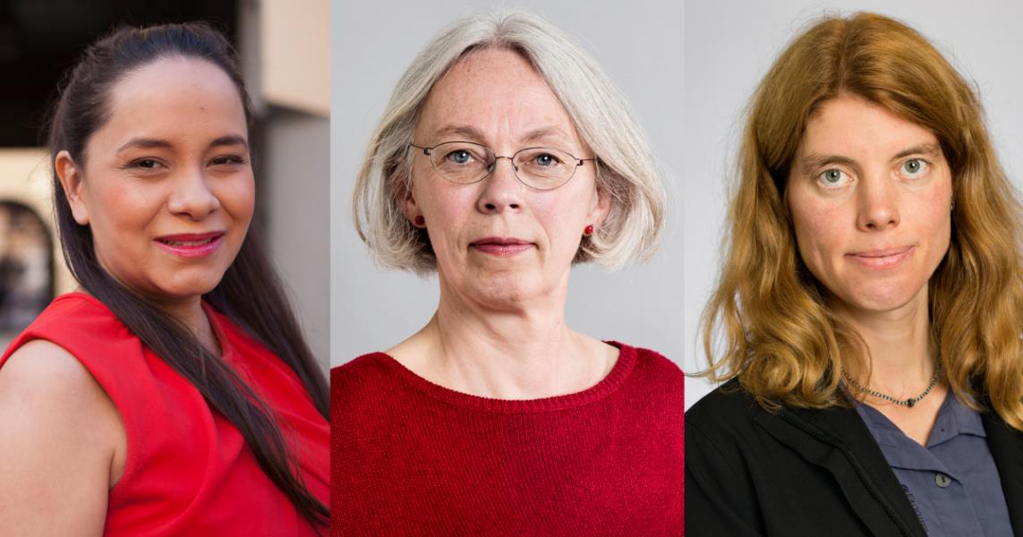 Elena Karlström,Torun Boucher och Anna Sehlin.