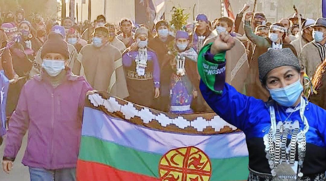 """""""Vi går tillsammans med vårt folk och vår historia för att öppna stängslen som påtvingats oss."""