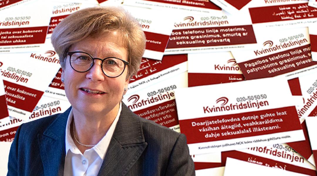 Åsa Witkowski är verksamhetschef påNationellt centrum för kvinnofrid vid Uppsala universitet.