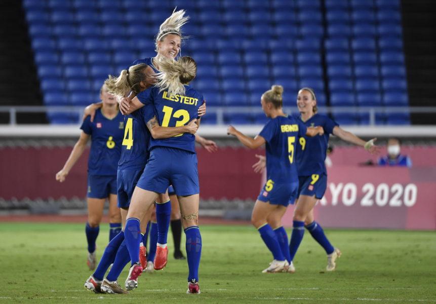 Australien-Sverige, 0-1, OS 2021.