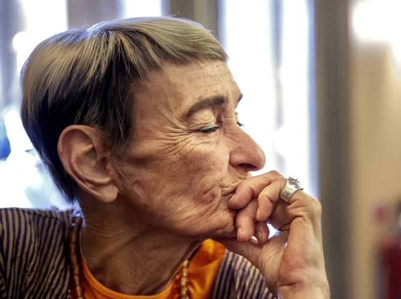 Gunilla Bergström 1942-2021.