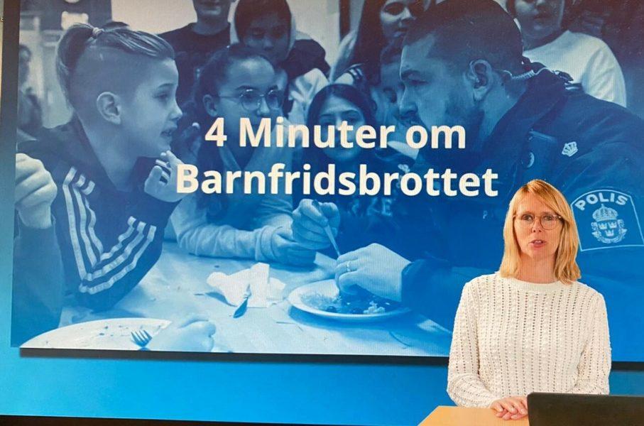 Ulrika Kvarnström.