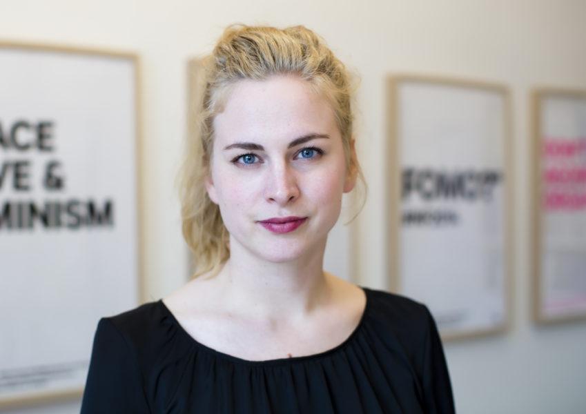 Clara Berglund, generalsekreterare i Sveriges kvinnolobby.