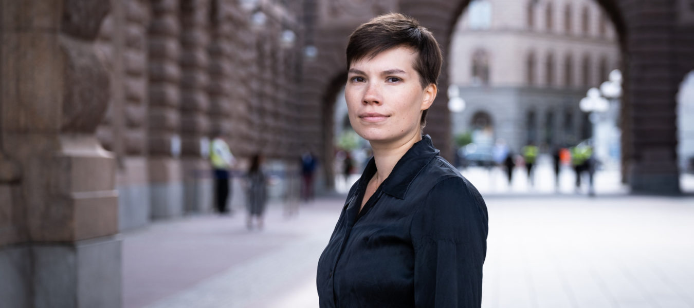 Annika Hirvonen.
