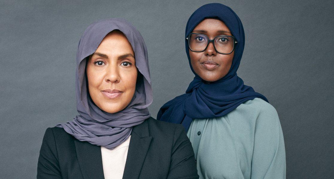 Fatima Doubakil och Maimuna Abdullahi.